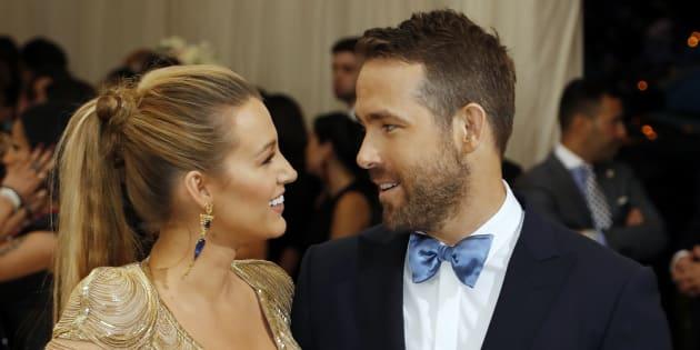 Blake Lively et Ryan Reynolds au gala du Metropolitan Museum.