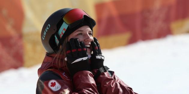 L'or pour Cassie Sharpe — Olympiques