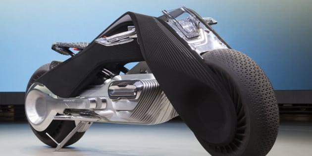 La moto du futur selon BMW sort tout droit d'un manga
