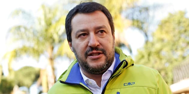 Northern League party leader Matteo Salvini talks during an interview with Reuters in Rome, Italy November 30, 2016. Picture taken November 30, 2016. To match Interview ITALY-REFERENDUM/  REUTERS/Tony Gentile