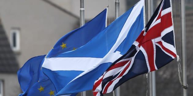 L'Écosse demande un nouveau référendum sur son indépendance du Royaume-Uni post-Brexit