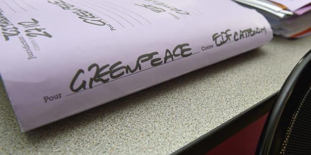 Greenpeace porte plainte contre la députée LREM Perrine Goulet.
