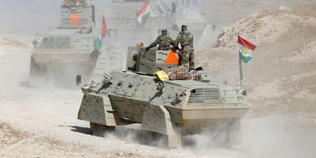 """La bataille de Mossoul, à laquelle participent notamment les combattants kurdes irakiens, risque de durer """"des mois"""""""