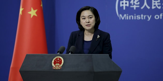 Hua Chunying, spokeswoman of China's Foreign Ministry.