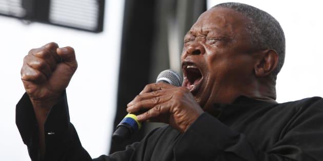 Mort de Hugh Masekela, auteur de l'hymne pour la libération de Mandela