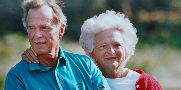 La sublime déclaration d'amour de George Bush Senior à Barbara, sa femme décédée.