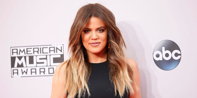 Khloe Kardashian arrives at the 42nd American Music Awards in Los Angeles, California November 23, 2014.  REUTERS/Danny Moloshok    (UNITED STATES-Tags: ENTERTAINMENT)(MUSIC-AMERICANMUSICAWARDS-ARRIVALS)