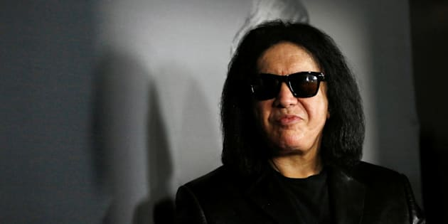 "Musician Gene Simmons attends the premiere for the documentary ""We Are X"" in Hollywood, Oct. 3, 2016."