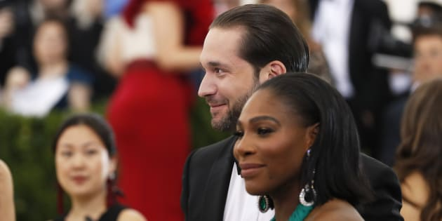 Alexis Ohanian et Serena Williams à New York le 1er mai 2017.