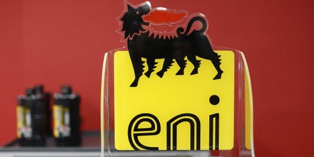 El logo de la petrolera Eni.