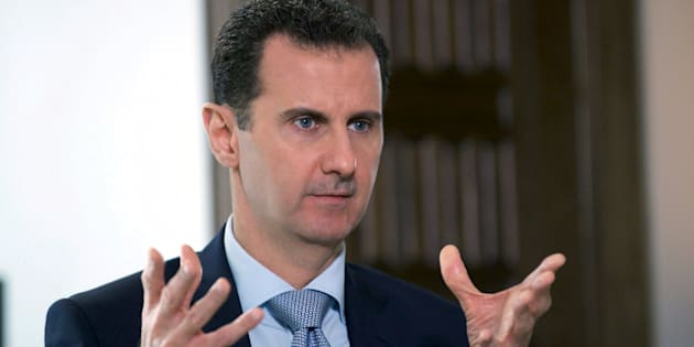 Syria's President Bashar al-Assad speaks during an interview with Russia's RIA new agency, in Damascus, Syria in this handout file picture provided by SANA on March 30, 2016. To match Insight MIDEAST-CRISIS/SYRIA   REUTERS/SANA/Handout via Reuters/Files  ATTENTION EDITORS - THIS PICTURE WAS PROVIDED BY A THIRD PARTY. REUTERS IS UNABLE TO INDEPENDENTLY VERIFY THE AUTHENTICITY, CONTENT, LOCATION OR DATE OF THIS IMAGE. FOR EDITORIAL USE ONLY. NOT FOR SALE FOR MARKETING OR ADVERTISING CAMPAIGNS. THIS PICTURE IS DISTRIBUTED EXACTLY AS RECEIVED BY REUTERS, AS A SERVICE TO CLIENTS