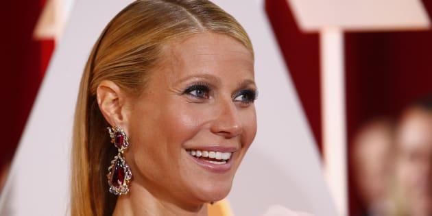 Gwyneth Paltrow aux Oscars 2015.