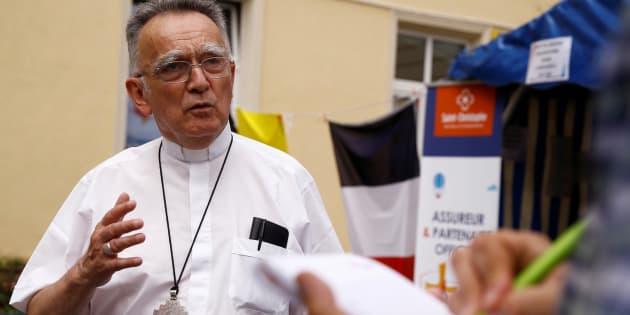 L'archevêque Georges Pontier en Pologne en 2016