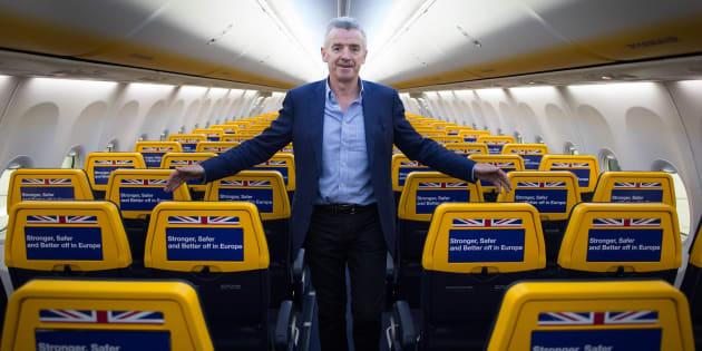 Senza accordo su Brexit a rischio tutti voli Gb-Ue: allarme di O'Leary