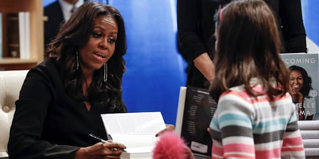 """""""Voici ce que Michelle Obama nous aurait dit ce soir, sur scène, pour nous donner confiance en nous."""""""