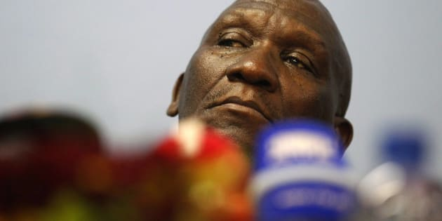 South African police chief Bheki Cele