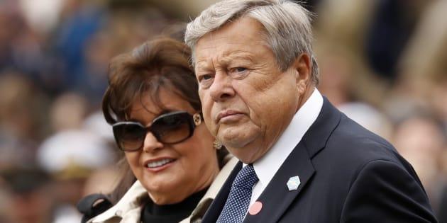 Los padres de Melania Trump.