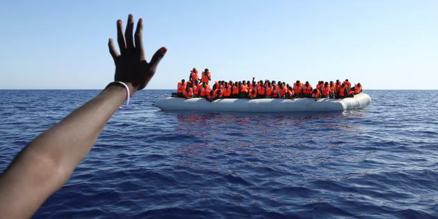 La linea di battaglia nel Mediterraneo centrale