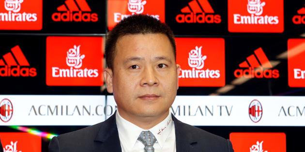 Yonghong Li indagato per falso in bilancio a Milano