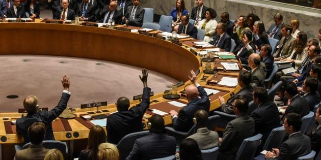 北朝鮮への制裁決議、国連安保理...