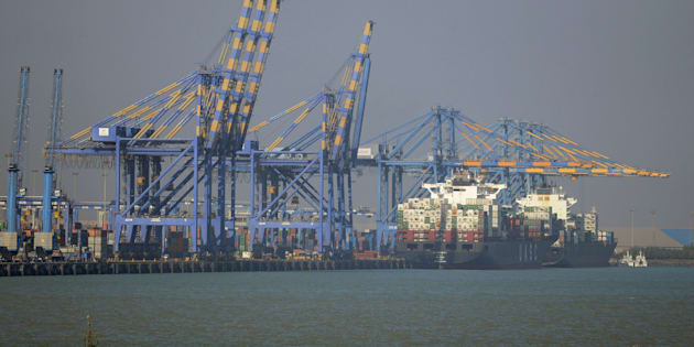 A view of the Adani Port Special Economic Zone in Mundra. Image for representational purposes only.