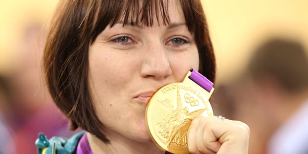 Anna Meares is the defending cycling sprint champion.
