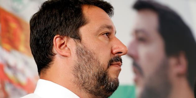 Northern League's leader Matteo Salvini attends a news conference in Milan, Italy, June 26, 2017.  REUTERS/Alessandro Garofalo