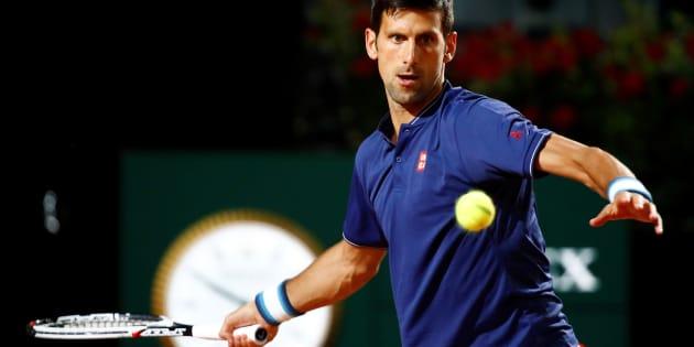 Novak Djokovic à Rome, le 19 mai.