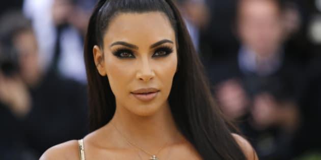 Kim Kardashian lors du Met Gala le 7 mai 2018 (photo d'illustration).
