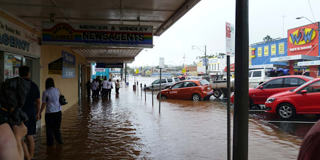 The flood situation is easing in the Queensland town of Rockhampton.