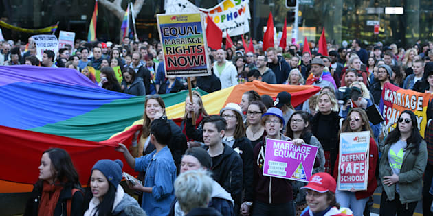 JOY 94.9 champions marriage equality and voices arguments against the plebiscite.