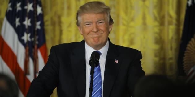 Le président américain Donald Trump à la Maison Blanche, le 23 juin.