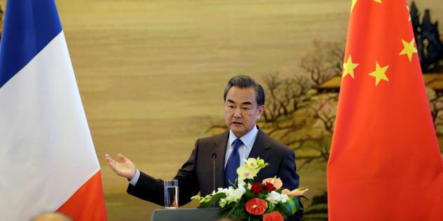 Le ministre des affaires étrangères chinois Wang Yi, en octobre 2016.