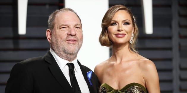 La femme de Harvey Weinstein sort du silence pour la première fois