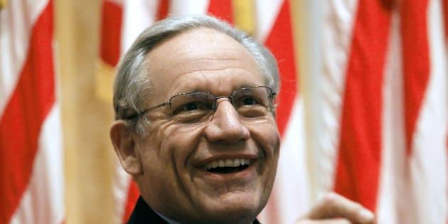 Bob Woodward, ancien journaliste du Washington Post, a révélé le scandale du Watergate avec son collègue Carl Bernstein.