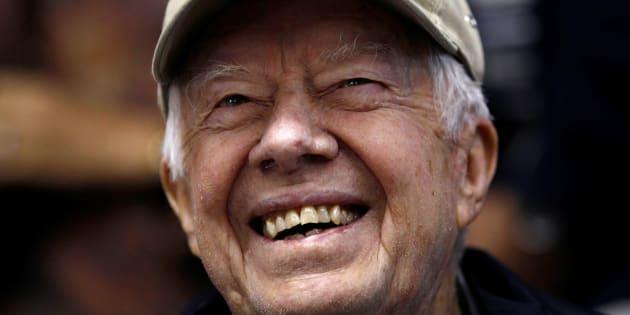 Jimmy Carter, en una imagen de archivo tomada en Washington en 2010.