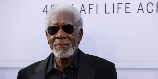 El actor Morgan Freeman, fotografiado en Los Angeles el 8 de junio de 2017.