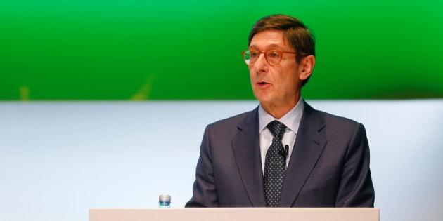 Jose Ignacio Goirigolzarri, presidente de Bankia, en Valencia. REUTERS/Heino Kalis