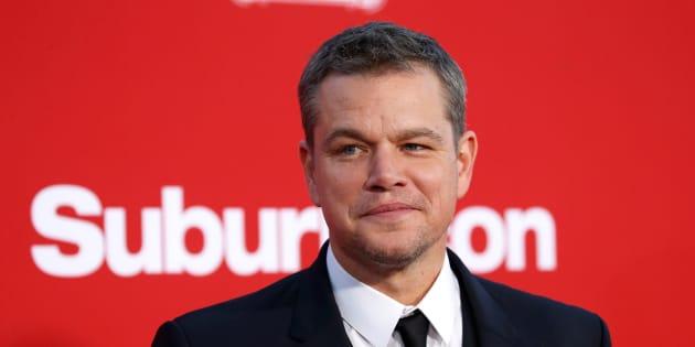Matt Damon relativise (encore) l'affaire Weinstein et se fait (encore) incendier