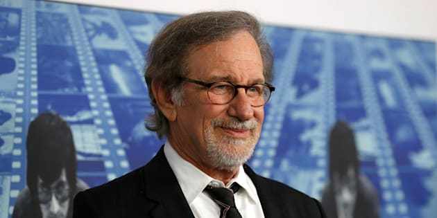 """Director Steven Spielberg poses at the premiere of the HBO documentary film """"Spielberg"""" in Los Angeles, California, U.S., September 26, 2017. REUTERS/Mario Anzuoni"""