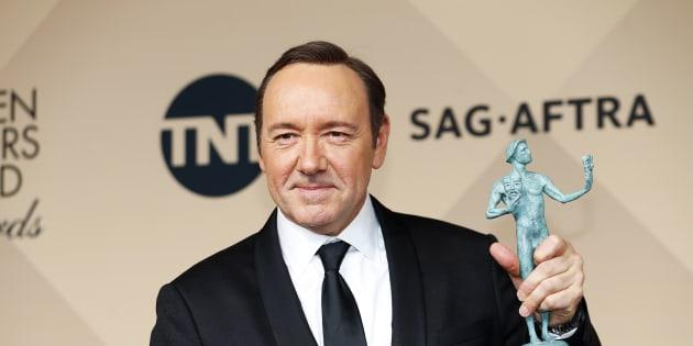 Kevin Spacey en una entrega de premios en Los Angeles, California.  REUTERS/Mike Blake