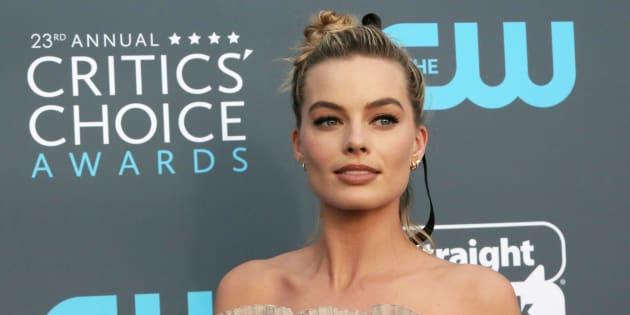 23rd Critics' Choice Awards ? Arrivals ? Santa Monica, California, U.S.,�11/01/2018�? Margot Robbie. REUTERS/Monica Almeida