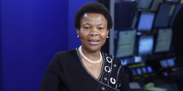 Minister of Minister of Women in the Presidency, Susan Shabangu.