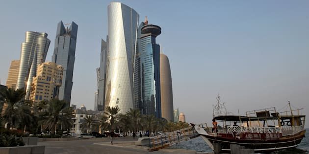 Vista de la Corniche de Doha, Qatar, en agosto del pasado año.