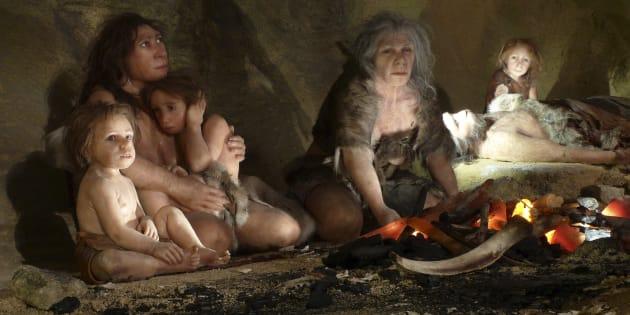 On sait ce que mangeait l'homme de Néandertal