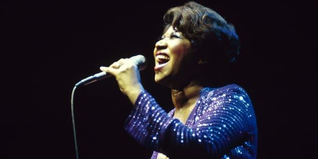 Aretha Franklin: Voz icônica coroada com nada menos que 21 Grammys.