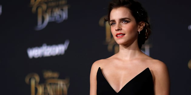"Cast member Emma Watson poses at the premiere of ""Beauty and the Beast"" in Los Angeles, California, U.S. March 2, 2017.   REUTERS/Mario Anzuoni"