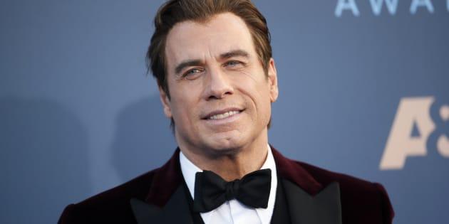 John Travolta luce irreconocible para el personaje de su próxima película