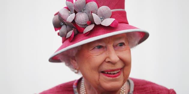 La reina Isabel II, el pasado día 19, en un acto en Hyde Park (Londres).