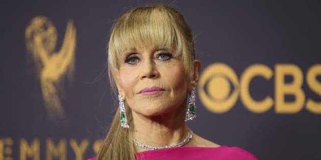 Jane Fonda à Los Angeles le 17 septembre 2017.